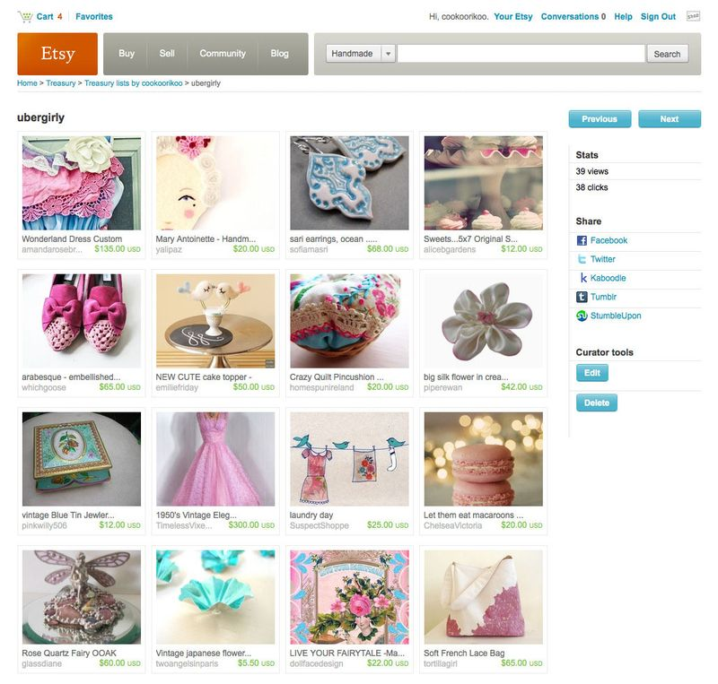 Ubergirly by cookoorikoo on Etsy